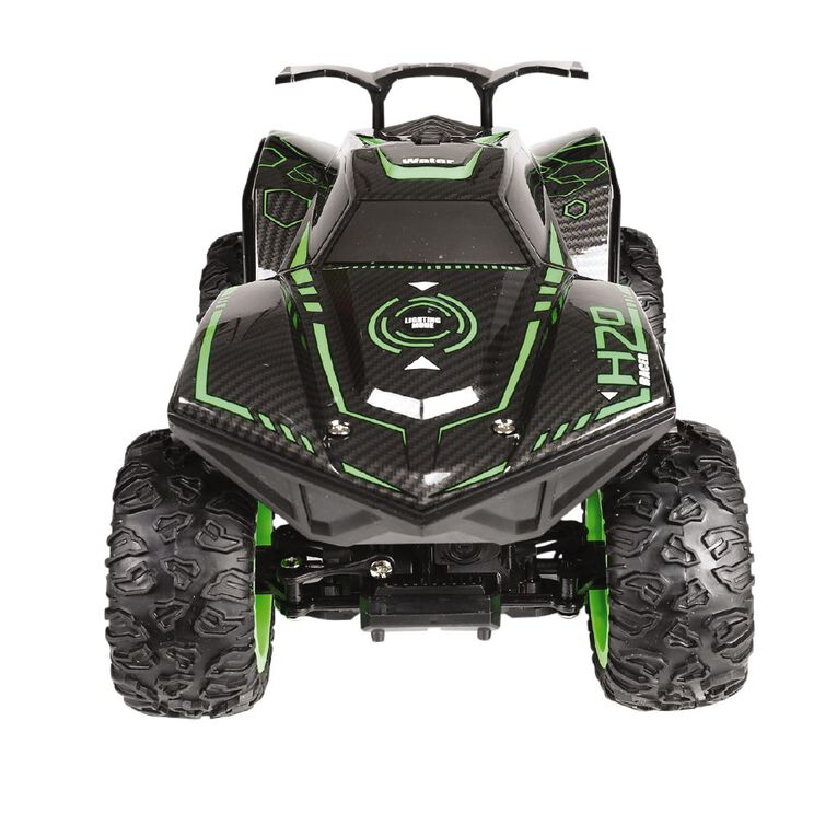 RC Climbing Car With Lights And Exhaust Spray Green, , hi-res