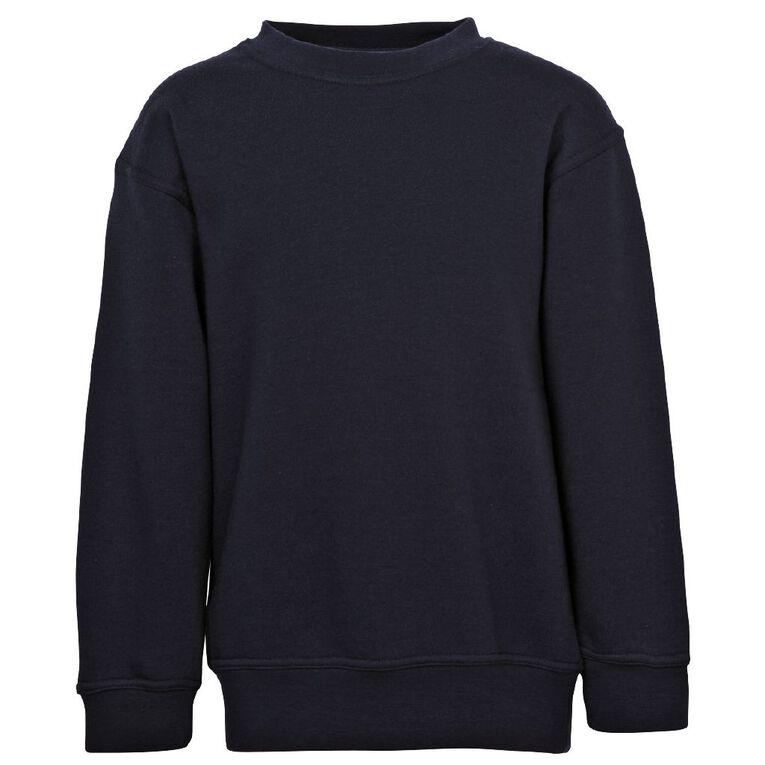 Schooltex Kids' Sweatshirt, Navy, hi-res