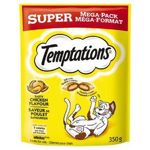 Temptations Cat Treats Tasty Chicken Super Mega Pack 350g Bag