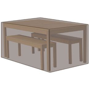 Living & Co Table & Bench Set Cover