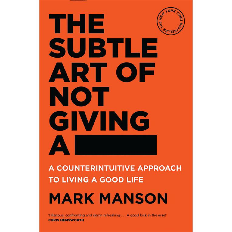 The Subtle Art of Not Giving a - by Mark Manson, , hi-res