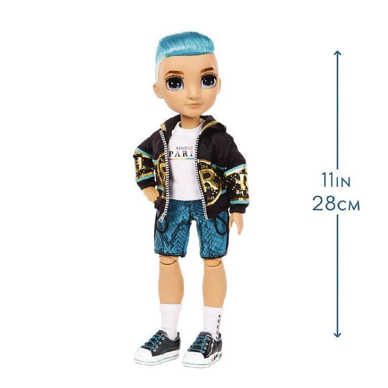 Rainbow High Fashion Doll Teal Boy, , hi-res