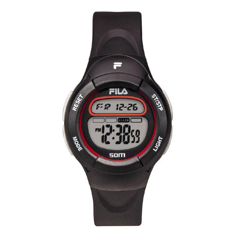 Fila Digital 5ATM Water Resistant Watch, , hi-res