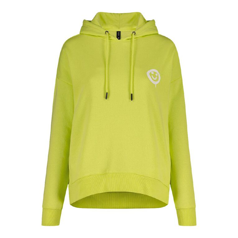 H&H Women's Classic Hoodie, Lime, hi-res