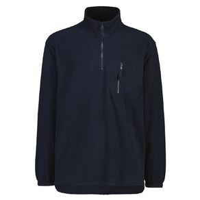 Rivet Men's 1/4 Zip Microfleece Sweatshirt