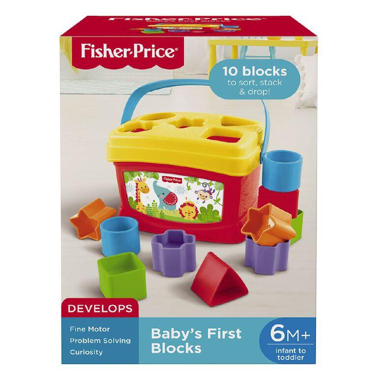 Fisher-Price Brilliant Basics Baby's First Blocks, , hi-res