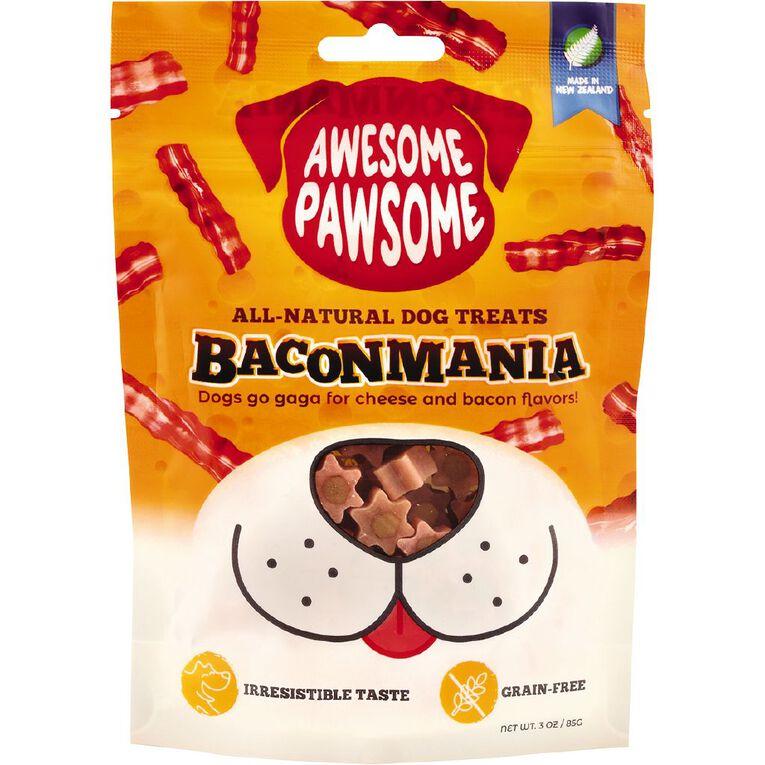 Awesome Pawsome Baconmania 85g, , hi-res