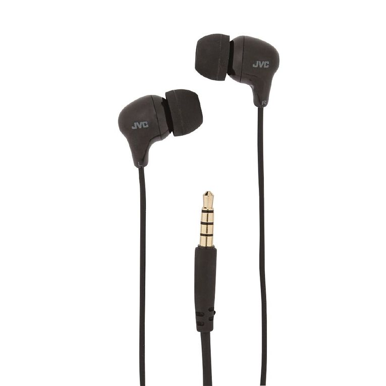 JVC Earbuds Black, , hi-res