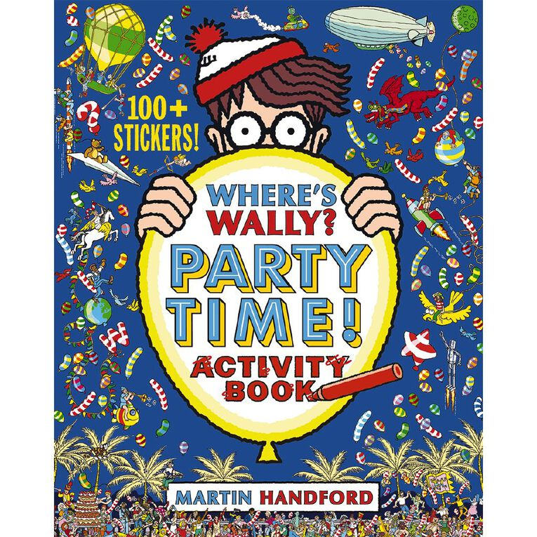 Where's Wally? Party Time! by Martin Handford, , hi-res