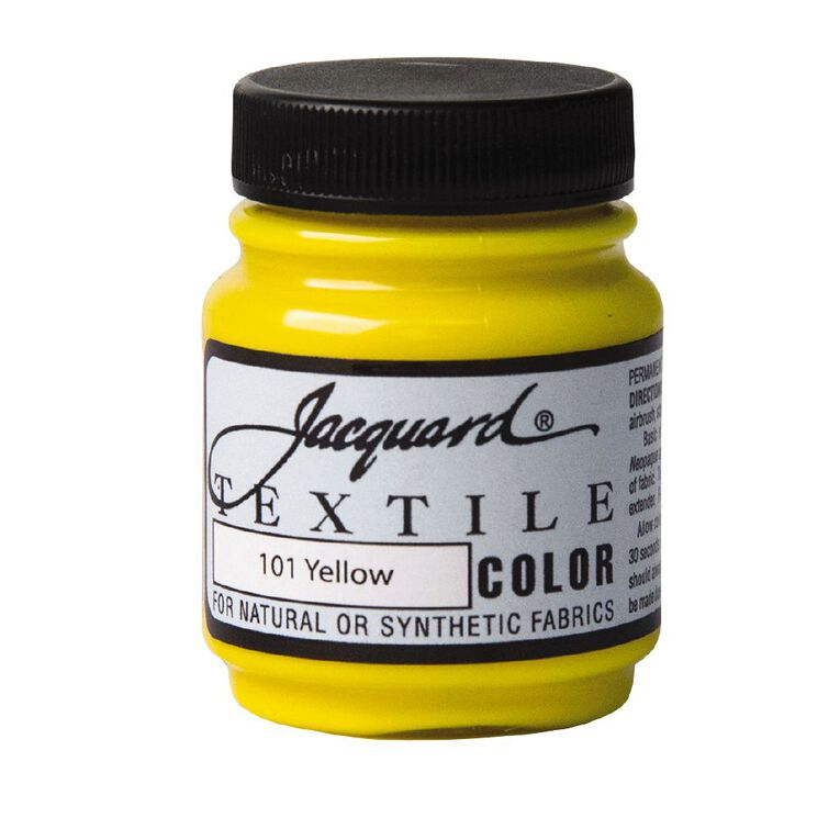 Jacquard Textile Colours 66.54ml Yellow, , hi-res