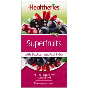Healtheries Superfruits 20s Tea