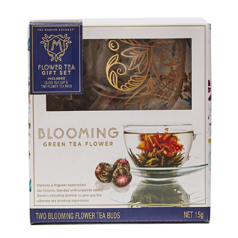 Modern Gourmet The Modern Gourmet Blooming Tea & Mug Set 15g, , hi-res