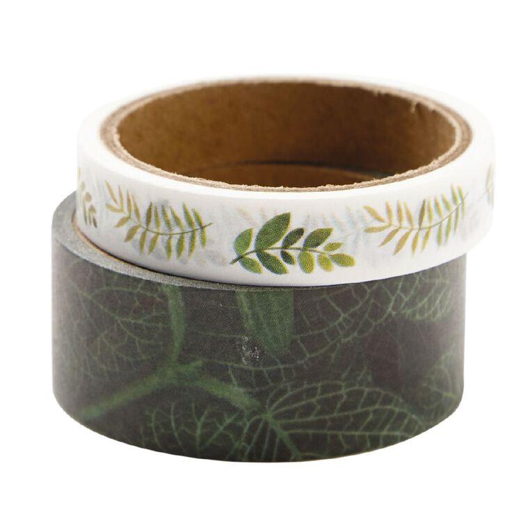 Uniti Plant Lady Washi Tape 2 Pack Leaf, , hi-res