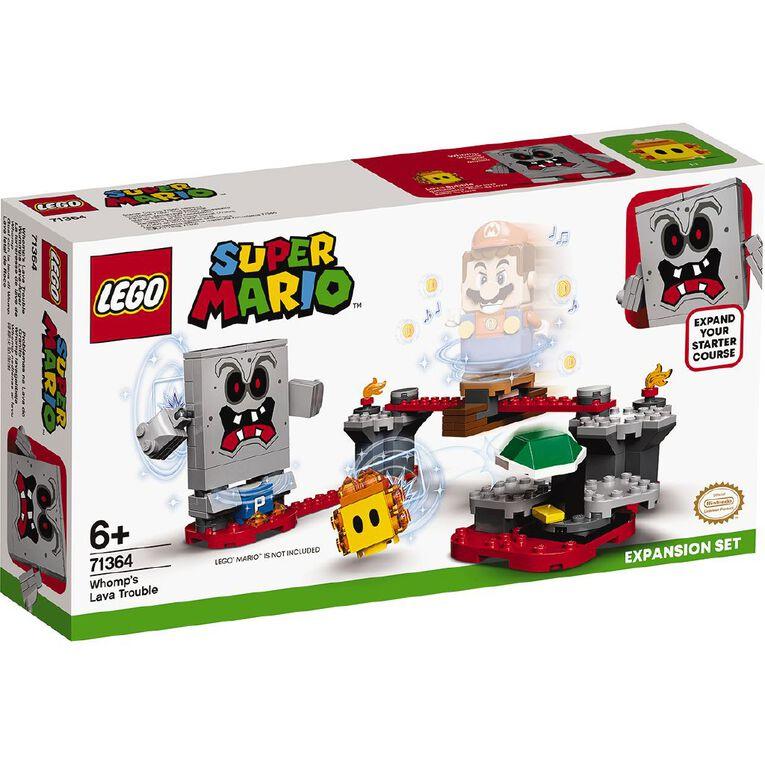 LEGO Super Mario Lava Thwomp 71364, , hi-res image number null