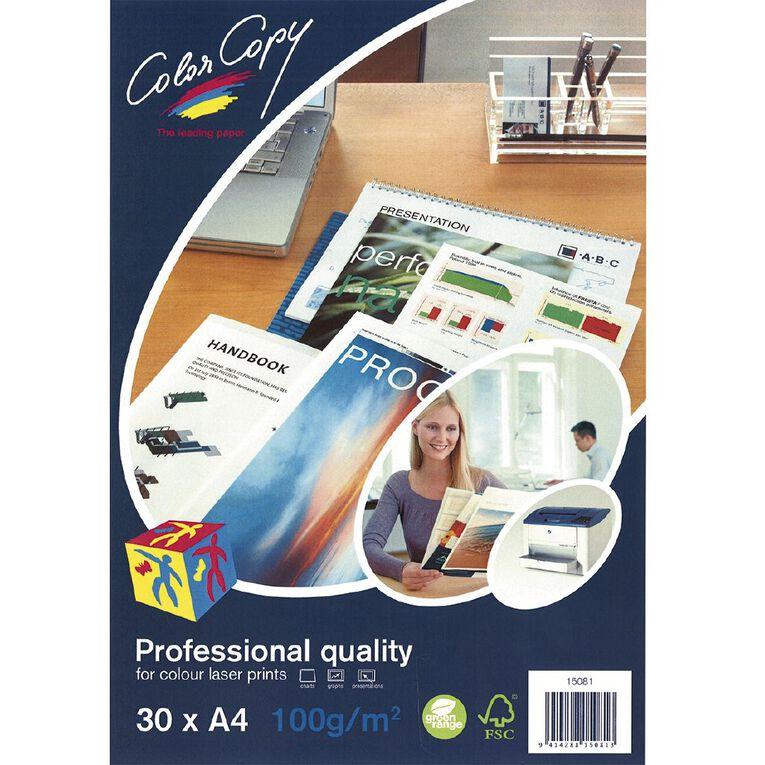 Color Copy Digital Laser 100gsm 30 Pack, , hi-res
