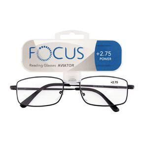 Focus Reading Glasses Aviator Power 2.75