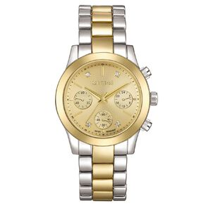 Mestige Bexley in Dual Gold Plated with Swarovski Crystals Watch