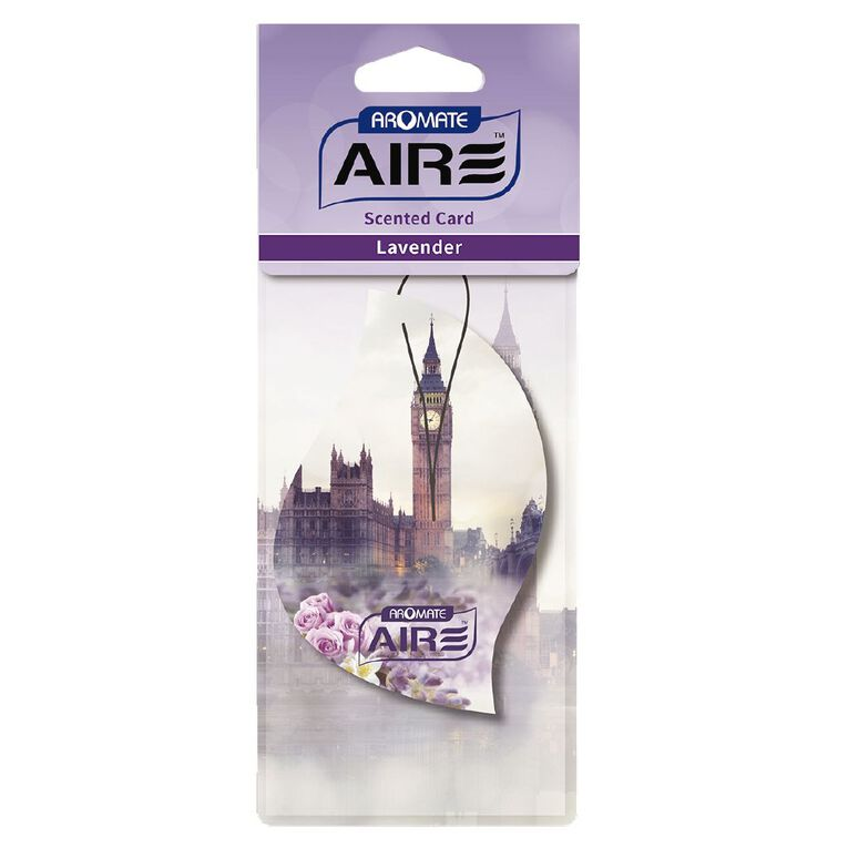 Aromate Aromate Scented Card LAVENDER, , hi-res