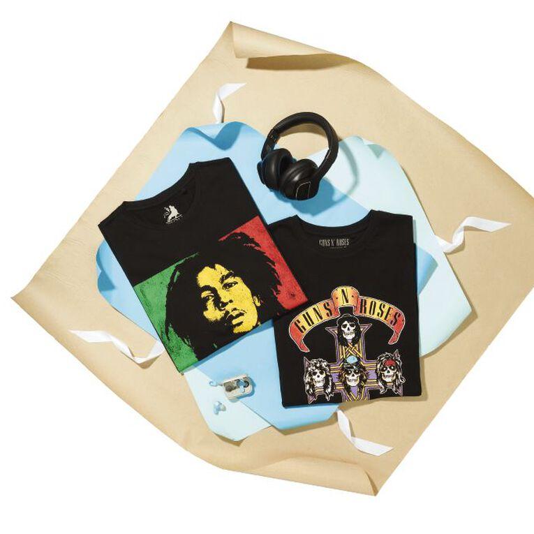 Bob Marley Short Sleeve Tee, Black, hi-res