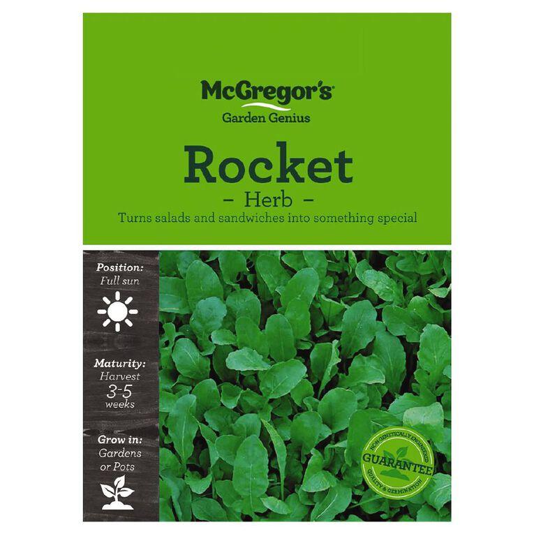 McGregor's Herb Rocket Seed, , hi-res