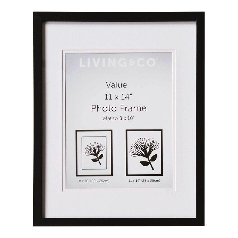 Living & Co Value Frame 8X10in or 11x14in Black, , hi-res