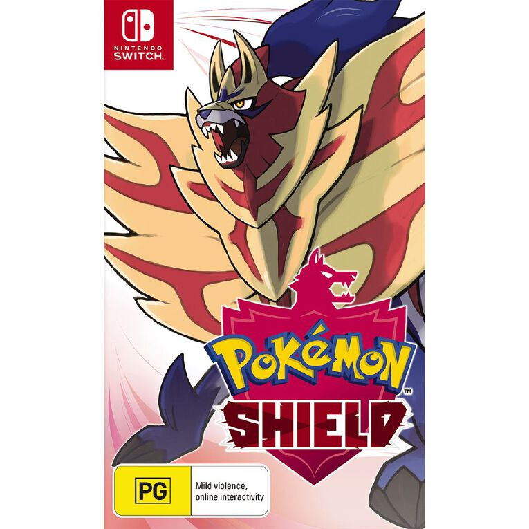 Nintendo Switch Pokemon Shield, , hi-res