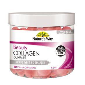 Nature's Way Beauty Collagen Gummies 40s