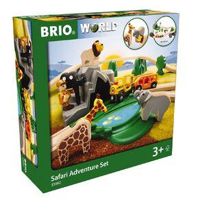 Brio Safari Adventure Set 26 Pieces