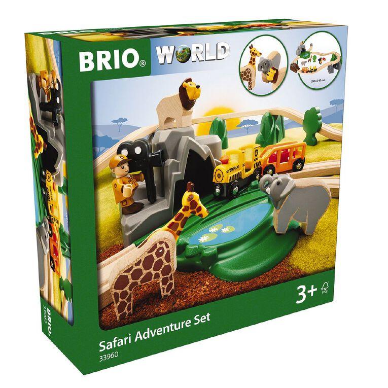 Brio Safari Adventure Set 26 Pieces, , hi-res