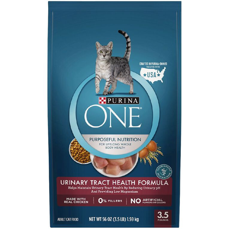 Purina ONE Special Care Urinary Tract Health Formula Adult Cat 1.59kg, , hi-res image number null