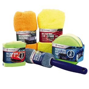 Autohaus Cleaning Kit 9 Piece