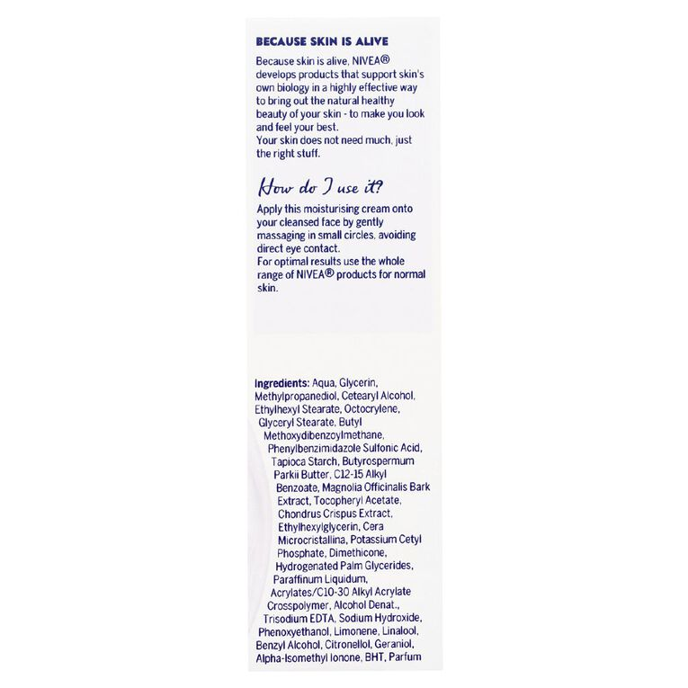 Nivea Daily Essentials Light Moisturising Day Cream 50ml, , hi-res