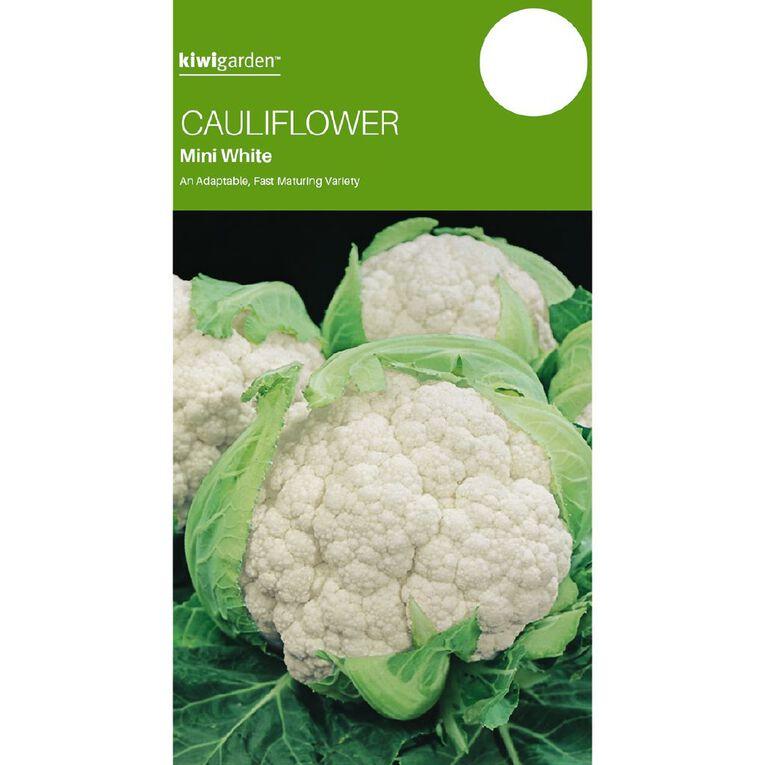 Kiwi Garden Cauliflower Mini White, , hi-res