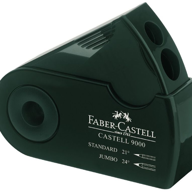 Faber-Castell Artist Twin Pencil Sharpener, , hi-res