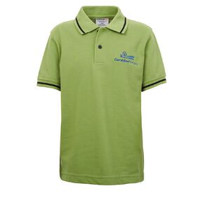 Schooltex Geraldine Primary Short Sleeve Polo with Embroidery