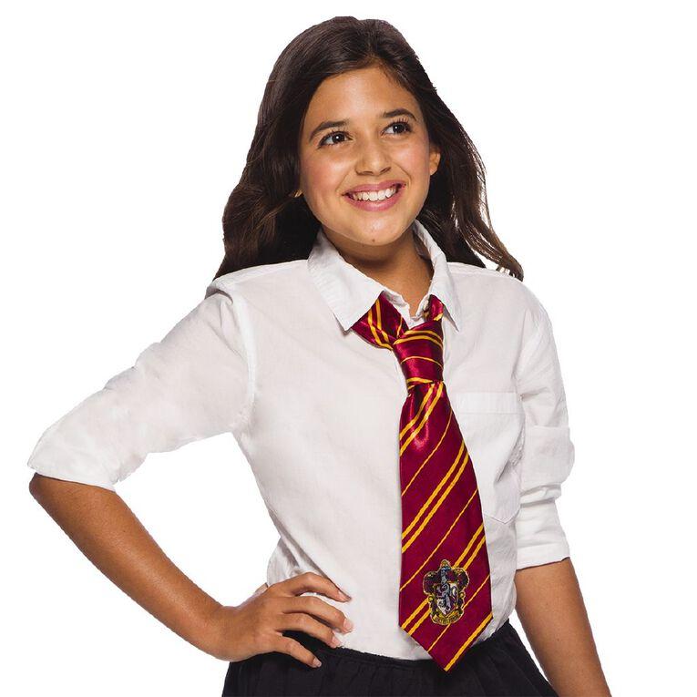 Harry Potter Gryffindor House Crest Tie Red One Size, , hi-res