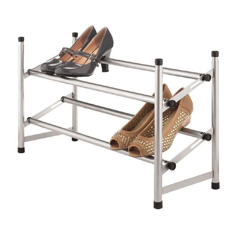 Chrome Shoe Rack, , hi-res