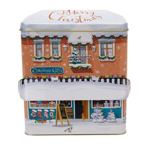 Christmas Shop - Large Canopy with Assorted Cream Biscuits 1000g