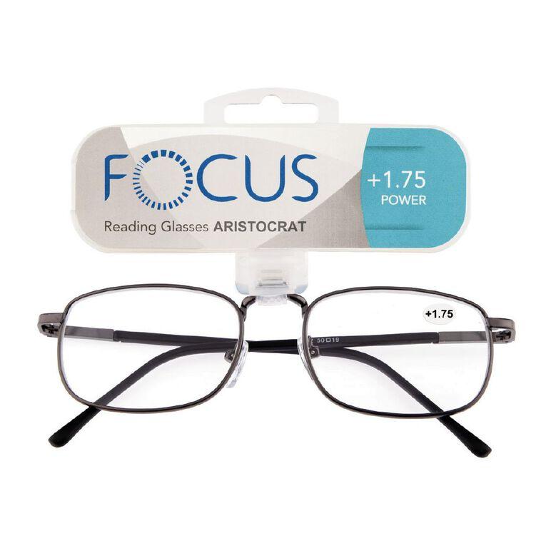 Focus Reading Glasses Aristocrat Power 1.75, , hi-res