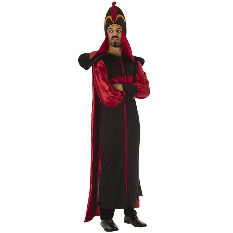 Aladdin Disney Jafar Deluxe Adult Costume Size Standard, , hi-res