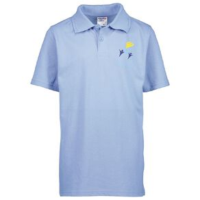 Schooltex Ascot Primary Short Sleeve Polo with Screenprint