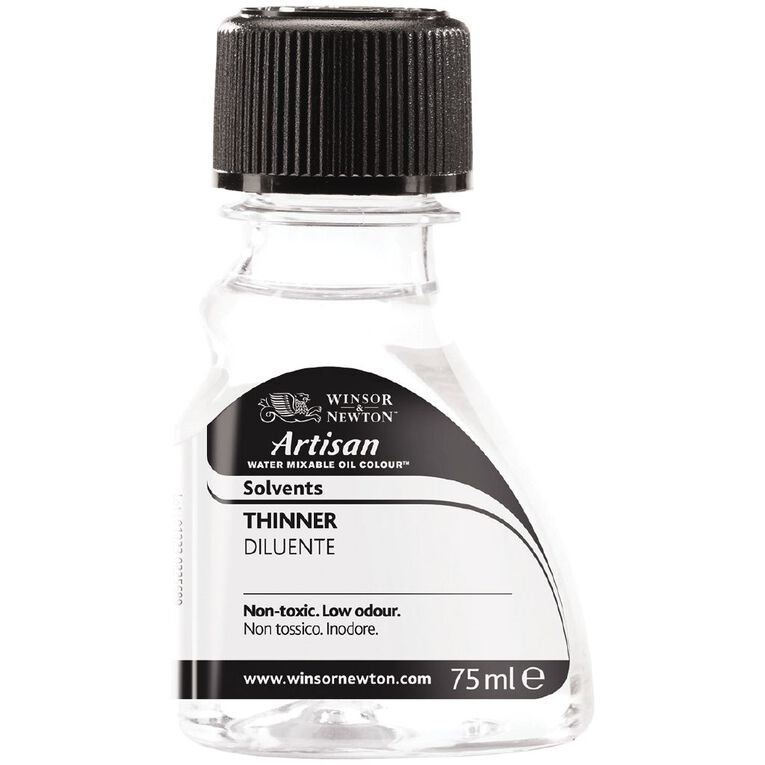 Winsor & Newton Artisan Water Mixable Thinner 75ml, , hi-res