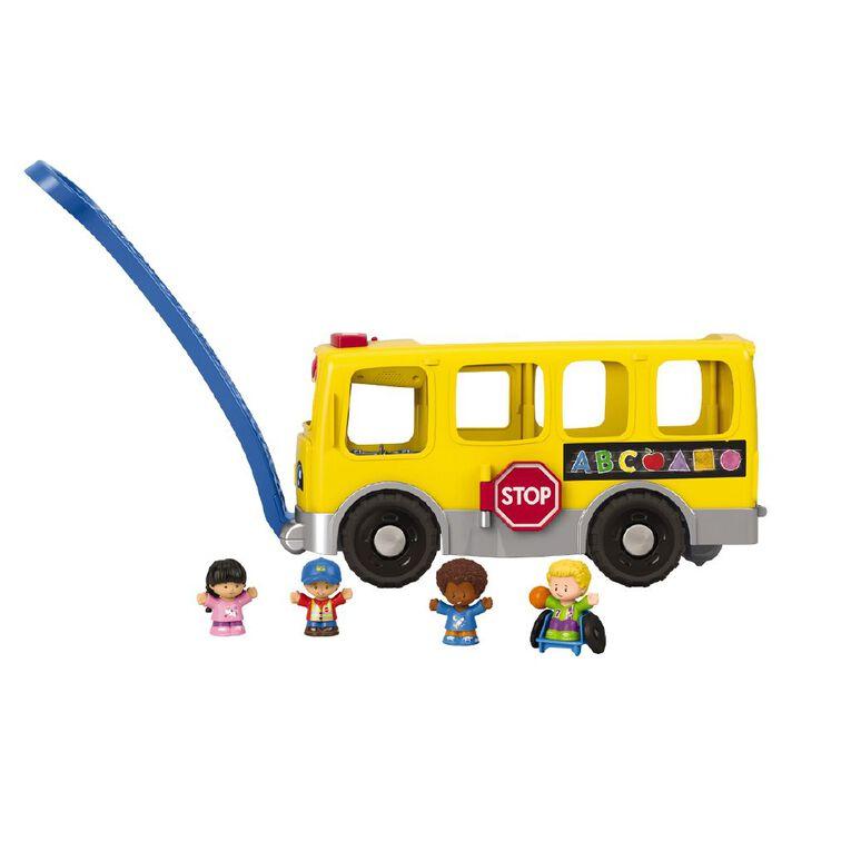 Fisher-Price Little People Big Yellow School Bus, , hi-res