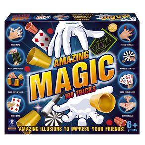 Amazing Magic 100 Tricks