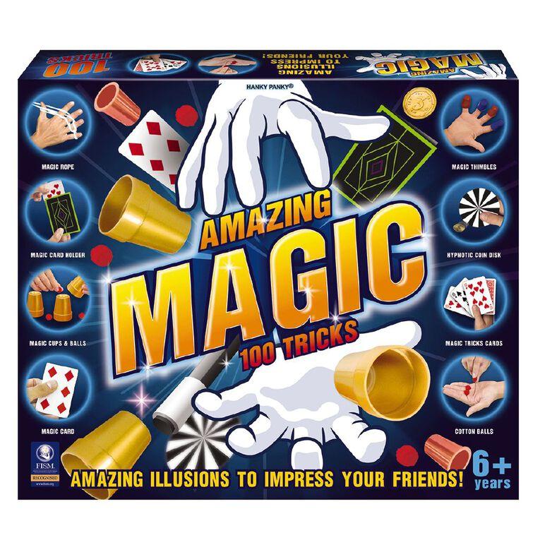 Amazing Magic 100 Tricks, , hi-res