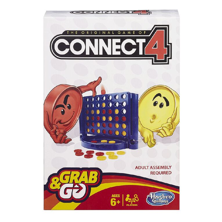 Connect Four Grab and Go, , hi-res
