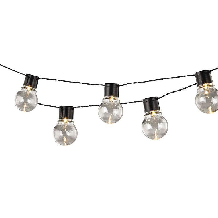 Kiwi Garden Solar Bulb String Light 10LED, , hi-res image number null