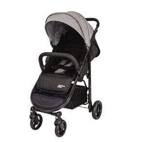 Mother's Choice Ava 4 Wheel Stroller - Grey Slate