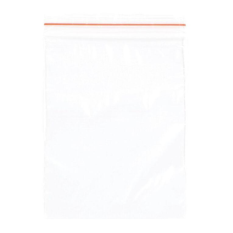 Uniti Reclosable Bags 7.5cm x 10cm 100 Pack, , hi-res