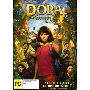 Dora And The Lost City Of Gold DVD 1Disc